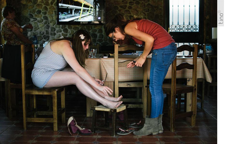 Preparativos. Fotografías de boda en Ubrique